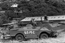 American soldiers on Grenada during Urgent Fury.