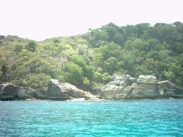 Anse La Roche bay.