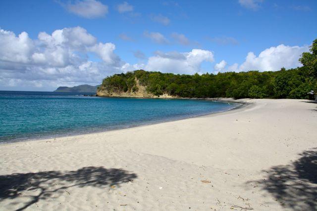 Beach of Anse La Roche.