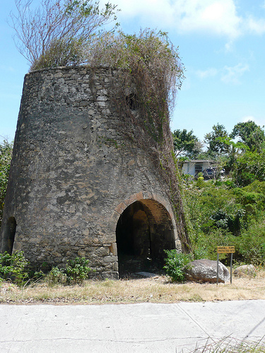 Windmill ruin on Carriacou.