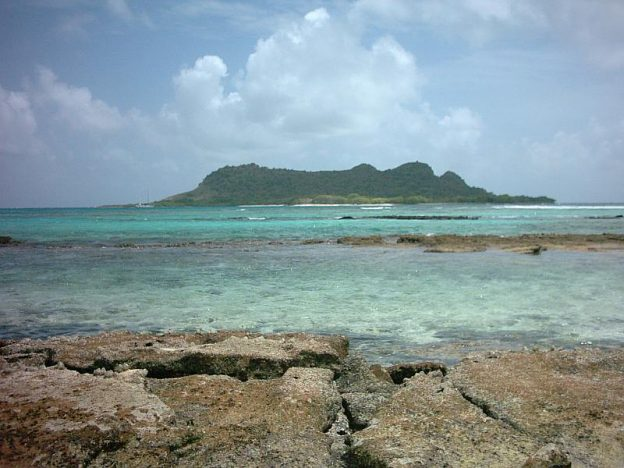 White island and saline island Carriacou.