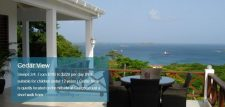 Down Island villa rental agency and cottages for rent.