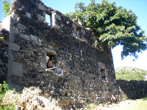 Estate house ruins from around 1750