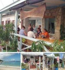 The Gallery Café in Harvey Vale on Carriacou.
