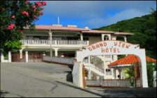 Entry of the Grand View Hotel on Carriacou.