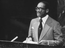 Gairy addressing the UN General Assembly