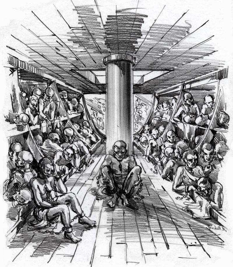 The beginning of african slavery