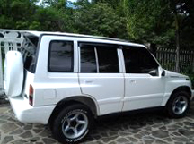 Jeep rentals on Carriacou.