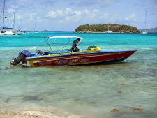 Sherwin's Lambi Queen water taxi and day trips to the Tobago Cays.
