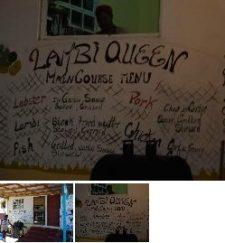 Harveyvale – the Lambi Queen restaurant.