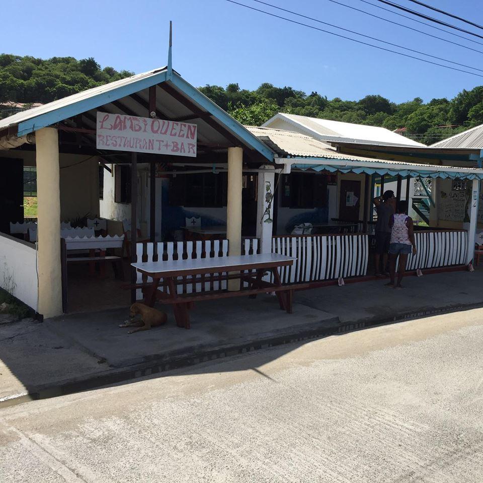 The Lambi Queen bar and restaurant.