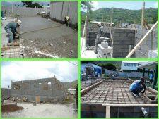 Lendore's Construction company on Carriacou.