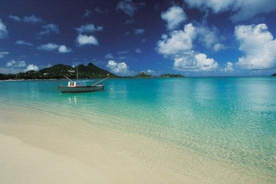 L'Esterre, Carriacou Paradise beach.