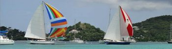 Sailboats on Carriacou.