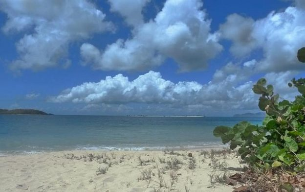 View of Sandy Island Carriacou.