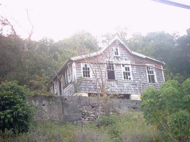 Old wooden house on Carriacou.