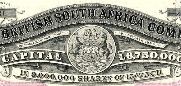 The first big slave trading company is founded in South London, increasing slave trade.