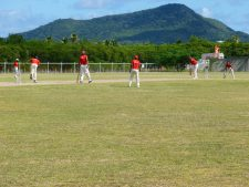 The sports stadium in Lauriston on Carriacou.