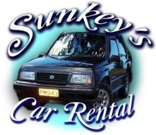 Sunkeys Jeep rentals on Carriacou.