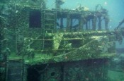 Carriacou wreckdiving at the Westsider.