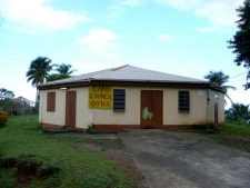 The Dominican council office for the Carib community.