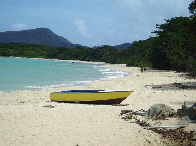 Paradise beach on Carriacou.