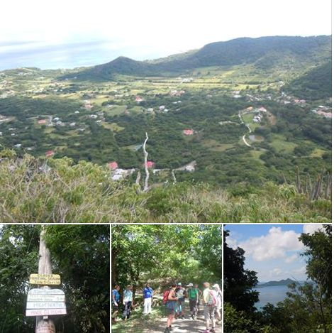 Stunning views ovver Carriacou Island, book a guided tour.