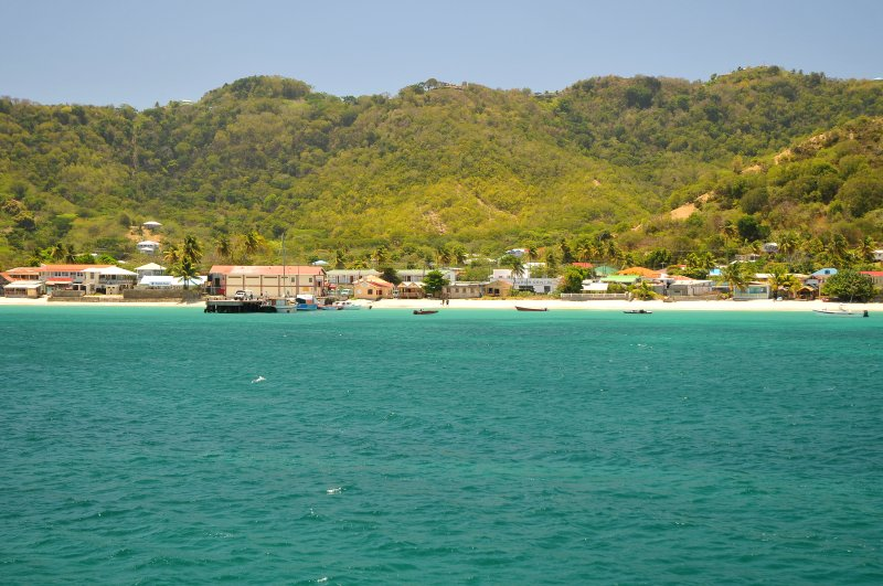 Arrival on Carriacou at the Osprey jetty in Hillsborough.