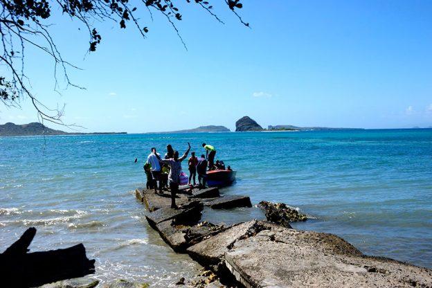 The Jetty at Cassada Bay.