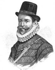 Slave trader John Hawkins.