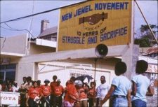 New Joint Endeavor for Welfare Education and Liberation, or the New Jewel Movement of Grenada.
