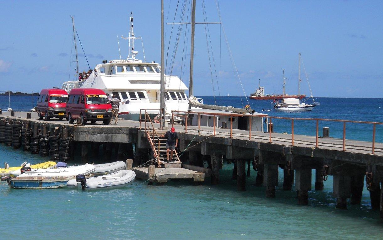 Jetty Hillsborough with Osprey Ferry.