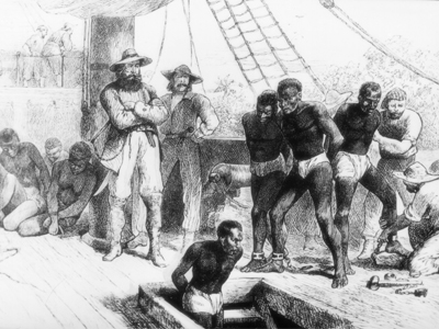 From african slave trade