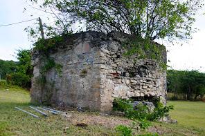 Old sugar factory ruins.