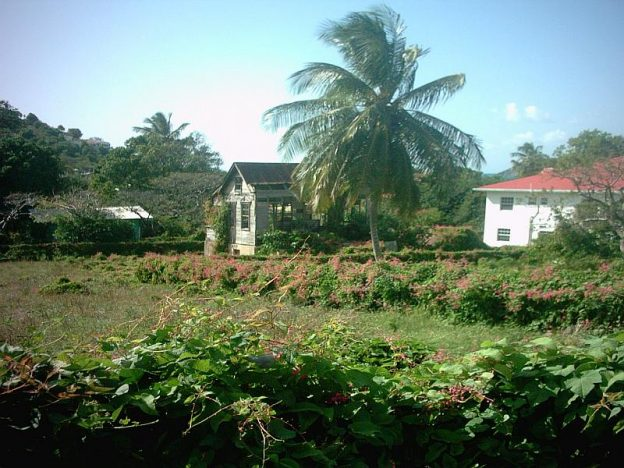 Old style wooden house on Carriacou.